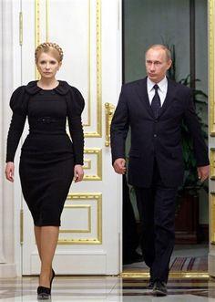 Yulia Tymoshenko, looking like a boss.