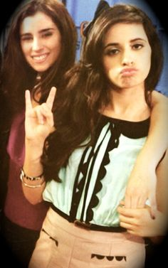 Lauren Jauregui and Camila Cabello