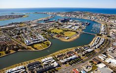 Newcastle, NSW Australia- you can see our house! Newcastle Nsw, My Town, City Photo, Places To Visit, Australia, River, History, Country, House