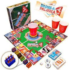"""DRINK-A-PALOOZA Board Game: combines """"old-school"""" """"new-school"""" drinking games & adult games featuring Beer Pong Flip Cup Kings card game & all the best party games for adults Adult Game Night Party, Game Night Parties, Adult Party Games, Birthday Party Games, Adult Games, Game Party, 21st Birthday, Party Fun, Party Time"""