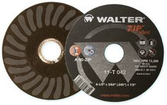 Walter Surface Technologies ZIP Wheel! 40% more cuts than the competition!