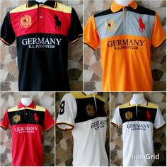 Polo German  Terbaru Size M.L.XL Borong Runcit...stock limited Whatsapp 0134269210