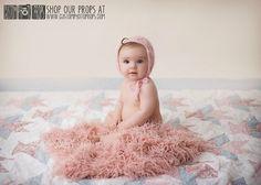 Peony Pink Sheep Faux Flokati Fur Newborn Photo Props, Artificial Fur, Newborn Baby Photography Props, Basket Stuffer, Baby Girl Props, Fur