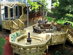 Best 70+ Best Deck Bench Seating Design Ideas For Your Backyard https://decoredo.com/6122-70-best-deck-bench-seating-design-ideas-for-your-backyard/