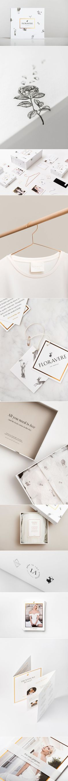 Floravere Wedding Gowns — The Dieline - Branding & Packaging Design