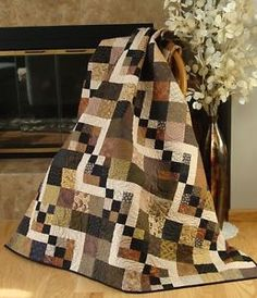 easy scrap quilts | Details about SIMPLY DELIGHTFUL Quilt Pattern - FAST & EASY Use Charms ...