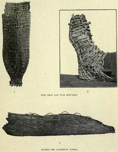 Klamath-Modoc Indian Tule Moccasins