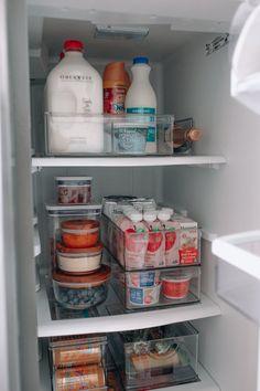 Fridge Organization | How to Organize Your Fridge | Happily Inspired