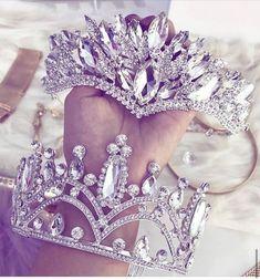 Coeur diadème strass diadème Luxe Mariée Bijoux princesse mariage bijoux star