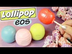 DIY EOS LOLLIPOP // How to Make Candy EOS // SoCraftastic - YouTube