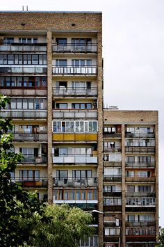 There are a lot of Soviet apartments(architectural masterpieces :( )  still in Latvia.