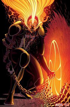 Ghost Rider (Robbie Reyes) by Tradd Moore