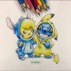 Stitch AND Pikachu!