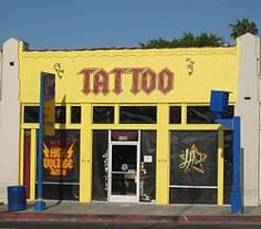 High Voltage tattoo shop. My family lives near hear so there is no reason I can't check this off my list one day.