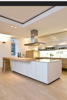 keuken met houten bar more kitchen island modern bulthaup keuken ...