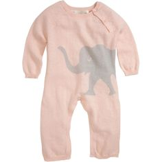 $88.00 Lucky Jade- Elephant Knit Coverall