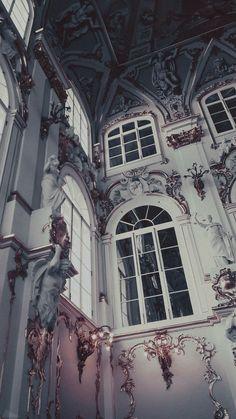 Making it in This Big World Wallpaper Pastel, Aesthetic Pastel Wallpaper, Aesthetic Backgrounds, Aesthetic Wallpapers, Wallpaper Backgrounds, Beautiful Wallpaper, Baroque Architecture, Beautiful Architecture, Drawing Architecture