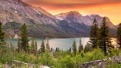 Painted Sky Glacier National Park - Visit Glacier National Park