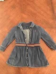Ralph Lauren denim button up jacket. Size: 3T  | eBay