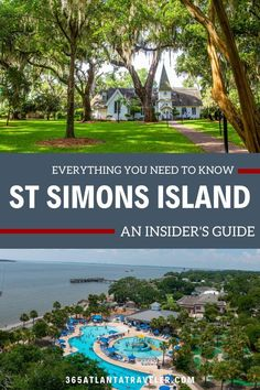 St Simons Island: An Insider's Guide to Stay, Eat and Play St Simons Island Georgia, Georgia Islands, Jekyll Island Georgia, St Simon Island Ga, Vacation Destinations, Vacation Trips, Vacation Spots, Day Trips, Vacation Ideas