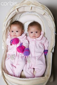 Identical twins with Down Syndrome. So much cuteness, I want to hug and kiss them!