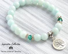 Husband Father Son Boyfriend Sterling Silver Gifts for Him Jewels for Gents Mens Amethyst February Birthstone Bracelet Gemstone Beaded Bracelets