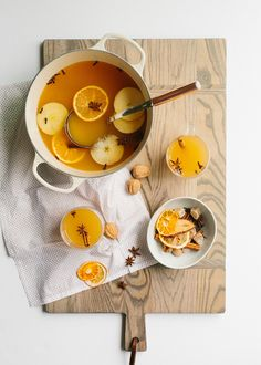 Spiced apple cider w