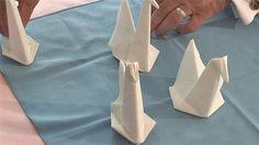 The Swan Napkin | 28 Creative Napkin-Folding Techniques