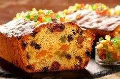 How to make Bread English Plum Cake, Pan Dulce, Eat Dessert First, Desert Recipes, Fruit Cake Recipes, How To Make Bread, Holiday Treats, Easy Cooking, Sweet Recipes