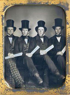 Four gentlemen...