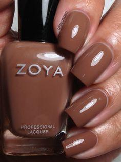 ZOYA - Naturel Deux Collection. Swatches and Review. (Colores de Carol)