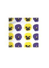 Pansy- VIDA  Designed By Jacopo Contini  Men's cotton pocket square. For Dandy e flower's lovers!   Check on www.shopvida.com  Direct link: https://shopvida.com/products/pansy-10