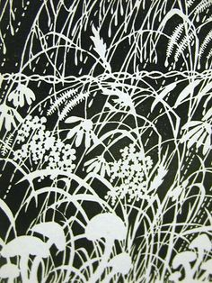Don Blanding 1946 Flowers in The Rain Deco Print Matted | eBay