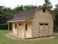 Gambrel Cabins For Sale And Cabin On Pinterest