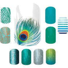 """Jamberry combos - Shake your tail feather"" http://jjae.jamberrynails.net/"