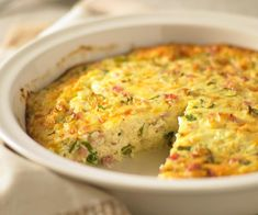 This crustless quiche is impossibly quick to make, hence its name. Bisquick Recipes, Quiche Recipes, Savoury Recipes, Appetizer Recipes, Appetizers, Quiche Dish, Frittata, Tuna Quiche, Easy Quiche