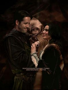 Robin Regina and Baby