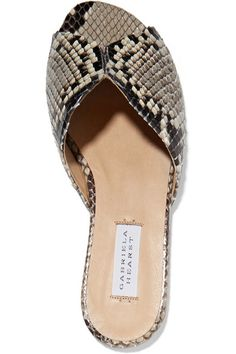 Gabriela Hearst - Julie Python Slides - Snake print - IT36.5
