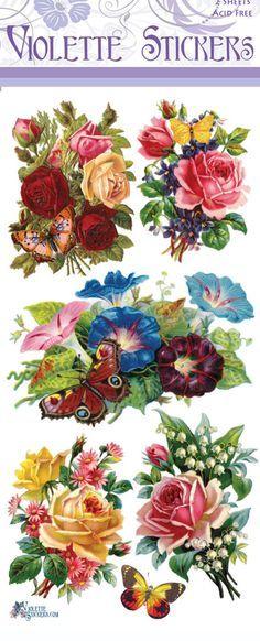 Violette Stickers