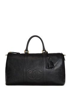 Black Caviar Boston Duffle Bag
