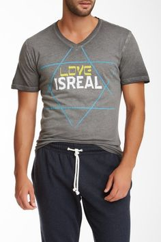 Love Is Real V-Neck Tee by Spenglish on @HauteLook