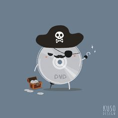 Pirated DVD by kusodesign.deviantart.com on @DeviantArt
