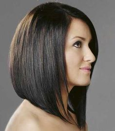 angled bob with layers - Google Search