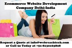Ecommerce Website Development Company Delhi Read more to click on image #ecommerceWebsiteDevelopmentCompany