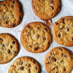 [Homemade] Choc chip cookies #food #foodporn #recipe #cooking #recipes #foodie #healthy #cook #health #yummy #delicious