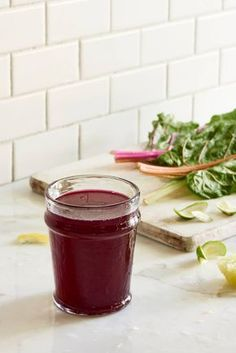 Can you feel the Beet? Detox Juice - Are you looking for delicious detox fasting recipes? This beet, chard, lemon, and lime fast juice is refreshing and delicious for Summer.