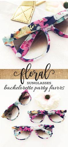 Bachelorette Party Ideas - Bachelorette Party Sunglasses, Bride Tribe Sunglasses, Bachelorette Sunglasses, Bachelorette Party Favors, Floral Sunglasses #bachelorette #bacheloretteparty #bacheloretteparties #bridesmaids #bridalshowers #weddings