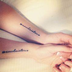 "2,699 Me gusta, 965 comentarios - LITTLE TATTOO LOVE ♡ (@littletattoolove) en Instagram: ""soulsister..tag a friend who'd love it! #tattoo #girlytattoo #littletattoo #littletattoolove…"""