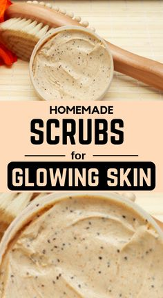 5 Effective Homemade Face Scrubs For Glowing Skin Face scrub exfoliates the dead skin cells and keeps the skin very clear. Try these natural homemade face scrubs and get a smooth skin. Face Scrub Homemade, Homemade Face Masks, Homemade Skin Care, Diy Face Scrub, Best Scrub For Face, Homemade Facial Scrubs, Diy Exfoliating Face Scrub, Homemade Recipe, Homemade Beauty