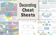 Decorating Cheat Sheets